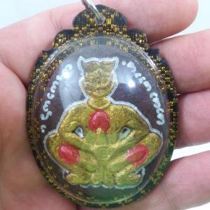Ajarn Phomphitruck prai Maha Sanaeh & Virility amulet Buddhist love luck protection