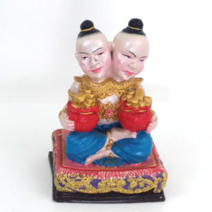 LP Samnao : blessed 5″ Kuman Thong statue – THAI VOODOO for love & money luck